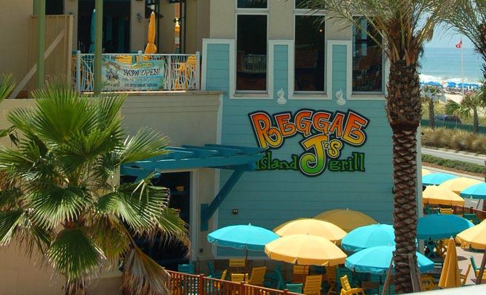 Reggae J's Grill Restaurant